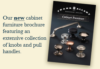 Cabinet Brochure Advert